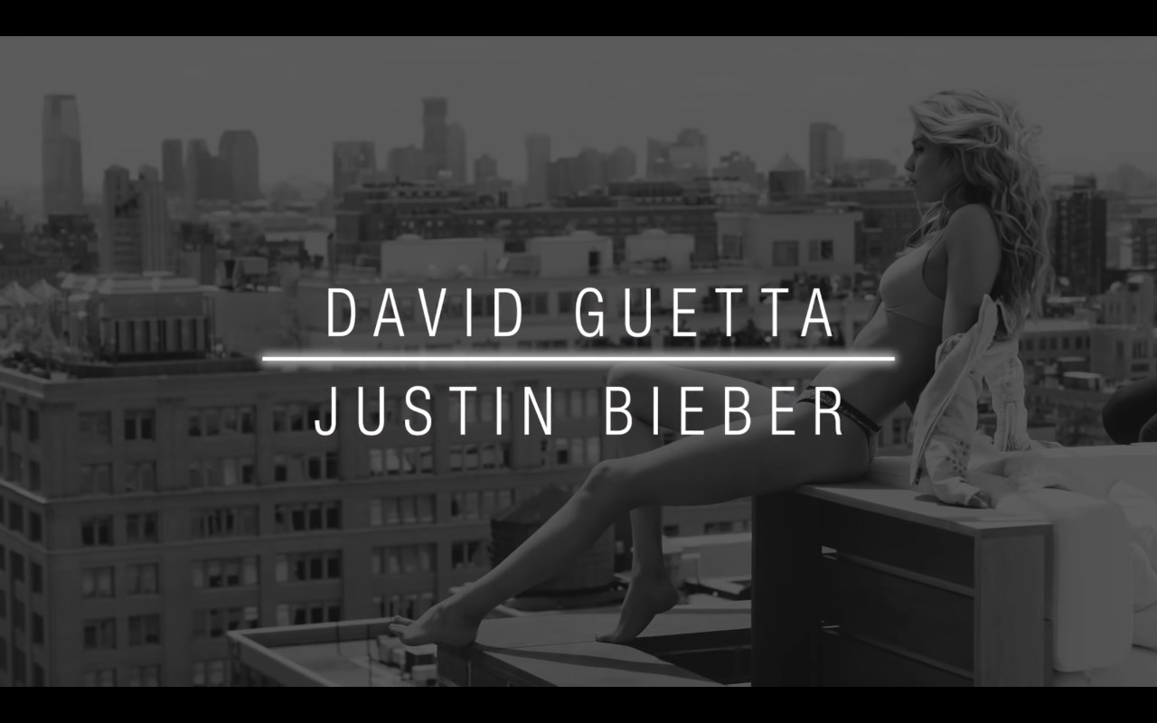 Victoria's Secret Models (Angels) - David Guetta ft. Justin Bieber - 2U Official Music Video Product Placement