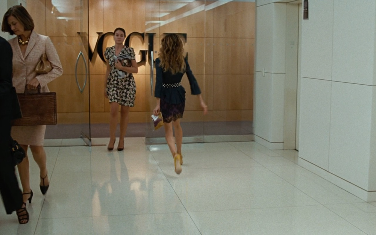 Vogue Building - Sex and the City (2008) Movie Product Placement