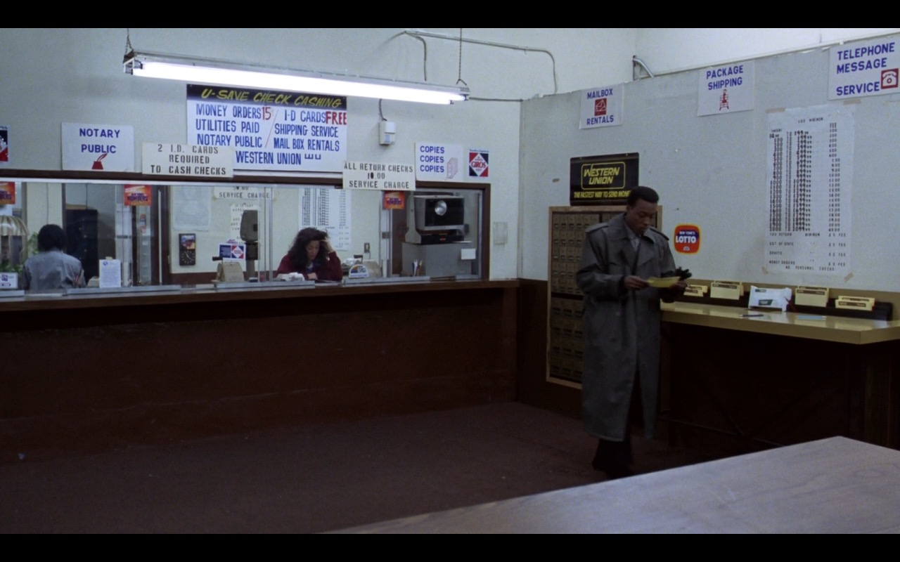 Western Union – Coming to America (1988) Movie Product Placement