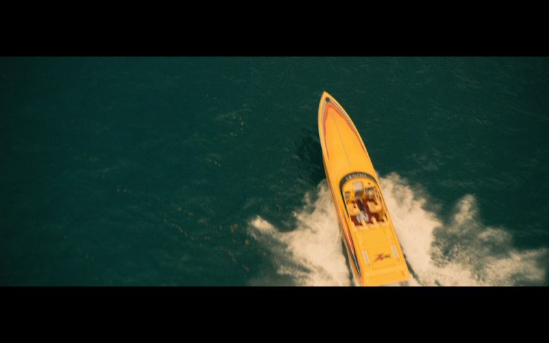 Yellow Donzi ZR Boat – Extortion 2017 Movie Product Placement (9)