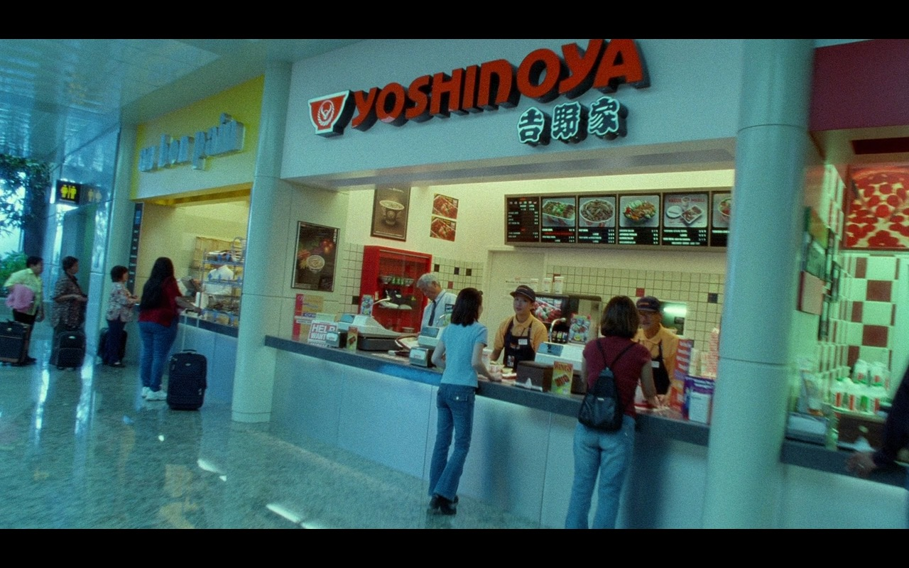 Yoshinoya Japanese Fast Food Chain – The Terminal (2004) Movie Product Placement