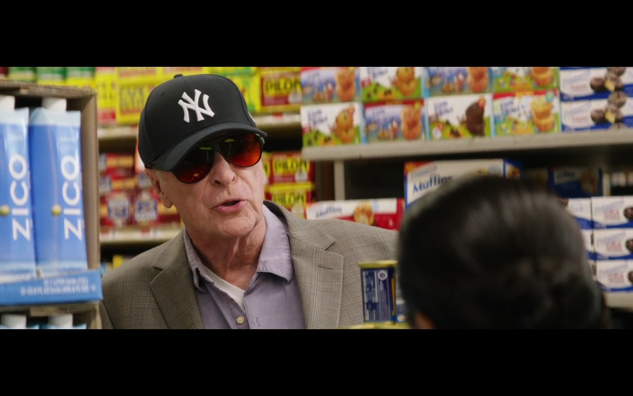 Zico Coconut Water & New York Yankees Cap – Going in Style (2017) Movie Product Placement
