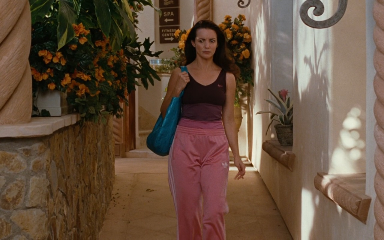 Adidas Pants and Nike Sports Bra – Sex and the City (2008) Movie Product Placement