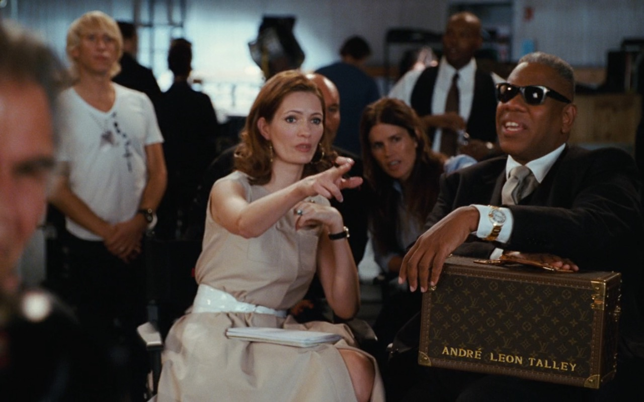 André Leon Talley & Louis Vuitton Bag – Sex and the City (2008) Movie Product Placement