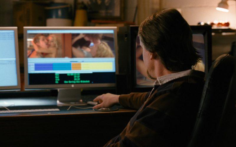 Apple Monitor and Panasonic TV – Zack and Miri Make a Porno (2)