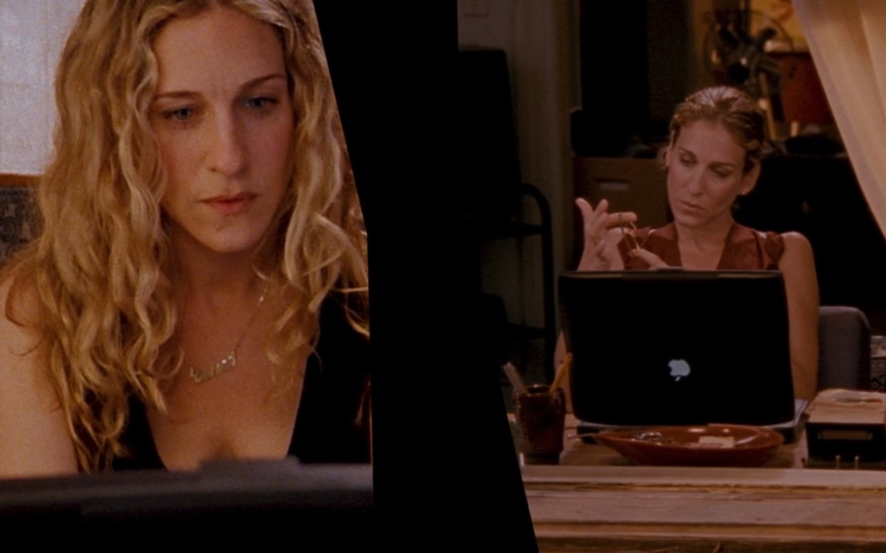 Apple PowerBook – Sex and the City (2008) Movie Product Placement