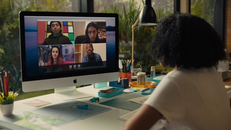 Apple iMac Computer used by Amandla Stenberg in Everything, Everything (2017) Movie Product Placement