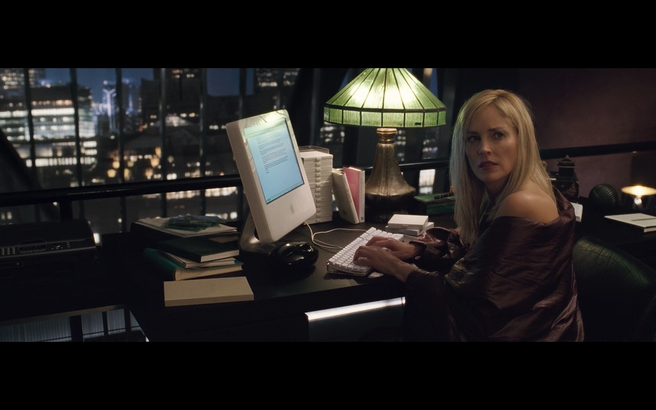 Apple iMac G5 - Basic Instinct 2 (2006) Movie Product Placement