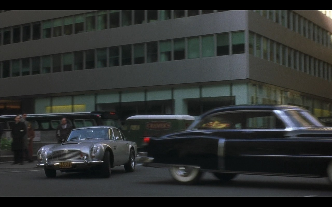 Aston Martin DB5 (1965) - Catch Me If You Can (2002) Movie Product Placement