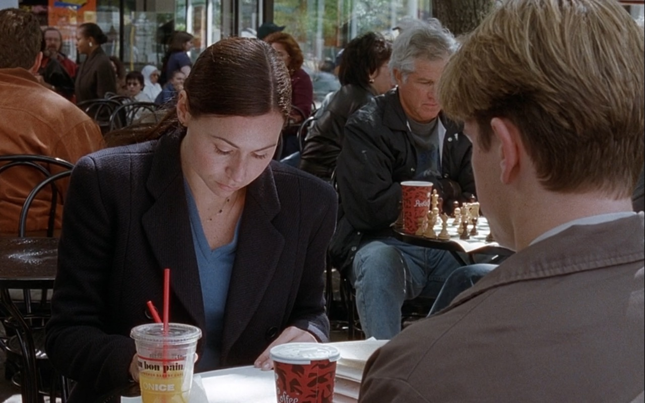 Au Bon Pain and Peet's Coffee & Tea - Good Will Hunting (1997) Movie Product Placement