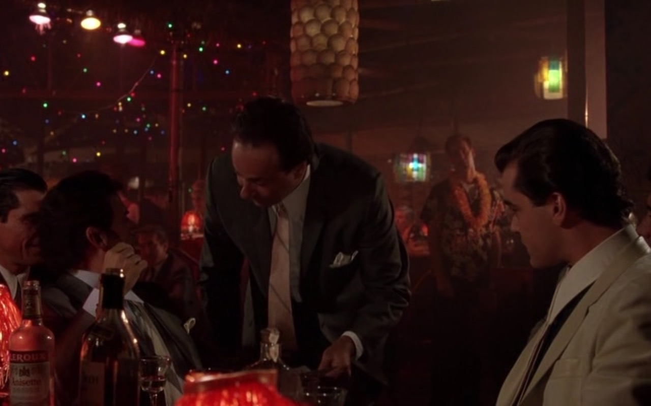 Bacardi Rum and Leroux Liqueur - Goodfellas (1990) Movie Product Placement