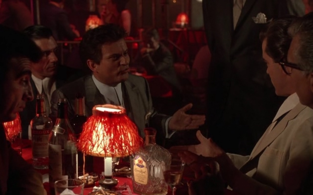 Bacardi Rum and Leroux Liqueur - Goodfellas (1990) - Movie Product Placement