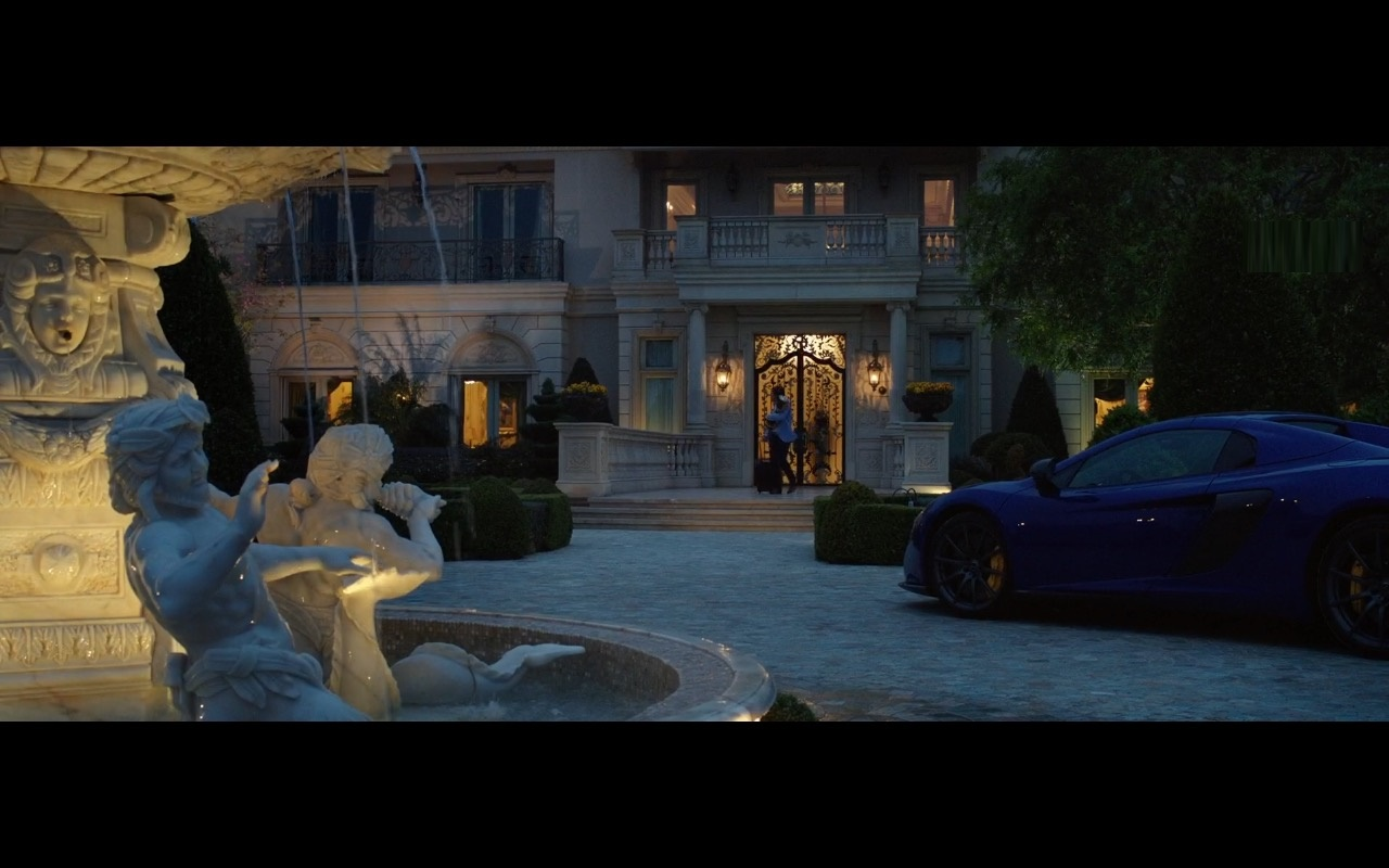 Blue And Yellow McLaren Cars - How to Be a Latin Lover (2017) Movie Product Placement