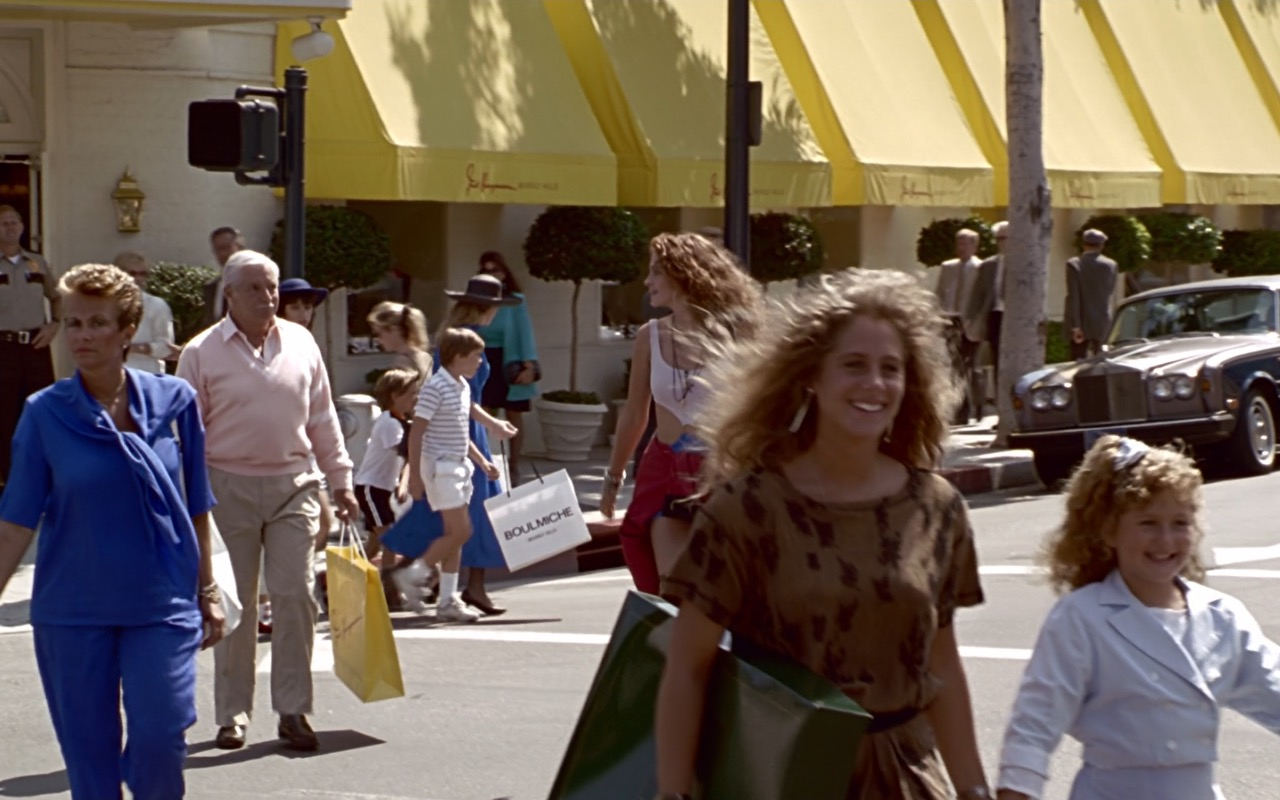 Boulmiche Paper Bag – Pretty Woman (1990) Movie Product Placement