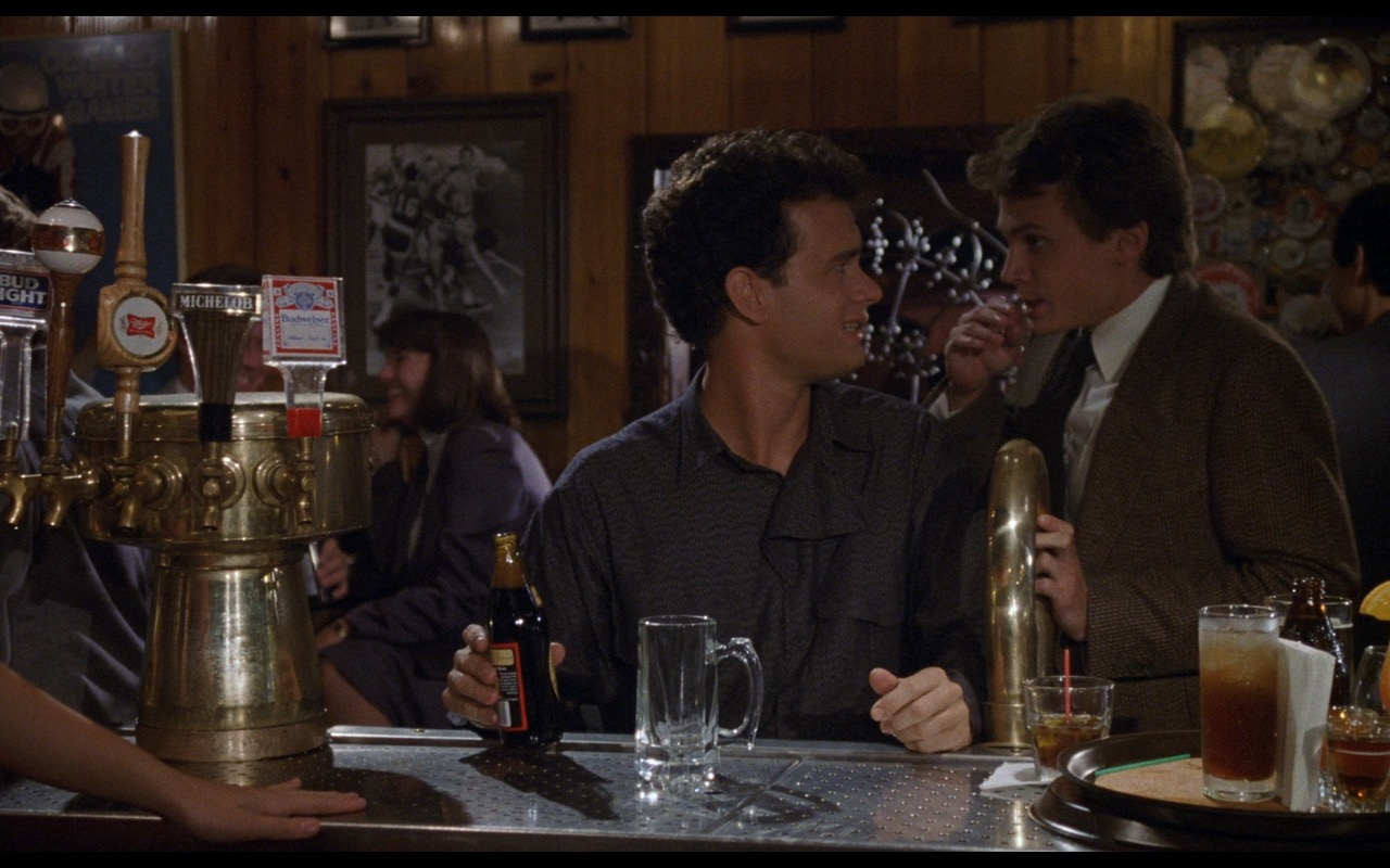 Bud Light, Miller, Michelob, Budweiser Beer – Nothing in Common (1986) Movie Product Placement