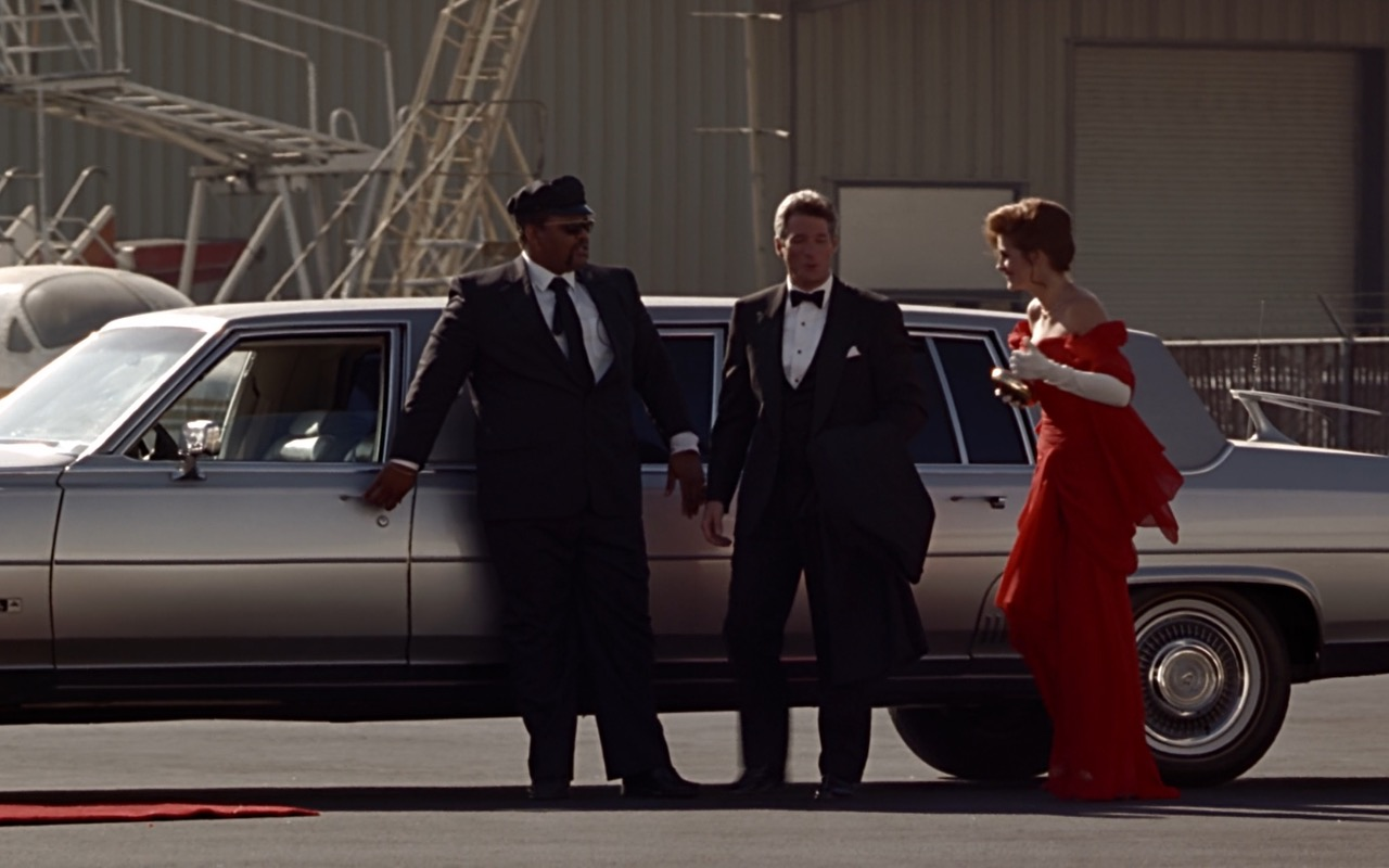 Cadillac Fleetwood Brougham Stretched Limousine Car – Pretty Woman (1990) - Movie Product Placement
