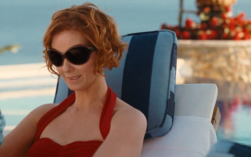 4e566d4be0 Calvin Klein Oversized Sunglasses Worn by Miranda Hobbes (Cynthia Nixon) in  Sex and the City (2008)