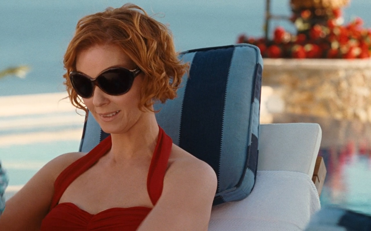 Calvin Klein Women's Oversized Sunglasses - Sex and the City (2008) Movie Product Placement