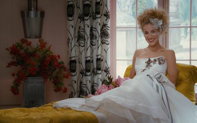 Carolina Herrera Wedding Dress – Sex and the City 2008