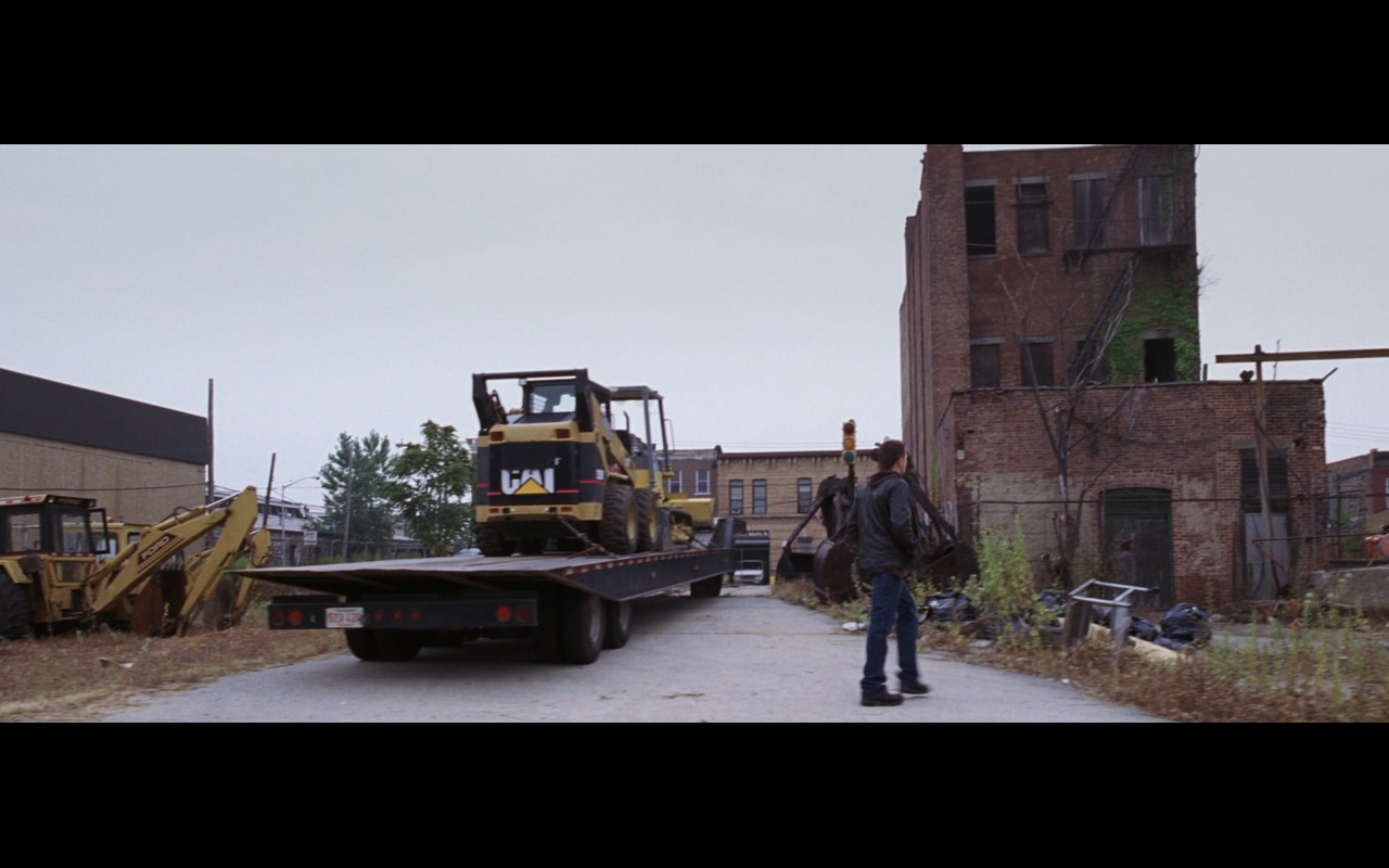Caterpillar Machines – The Departed (2006) - Movie Product Placement