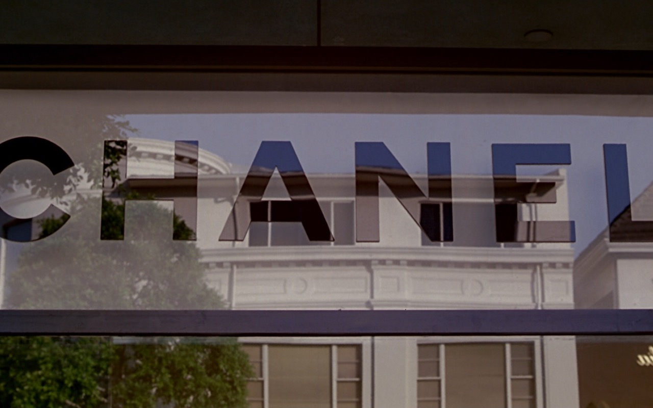 Chanel Store Sign – Pretty Woman (1990) Movie Product Placement