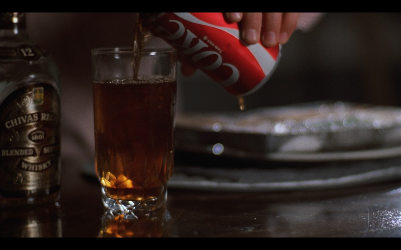 Chivas Regal Whisky And Coca-Cola - Risky Business (1983) Movie Product Placement