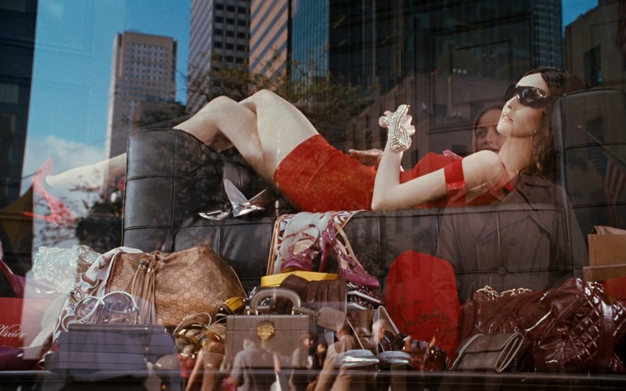 Christian Louboutin Display Window – Sex and the City (2008) Movie Product Placement