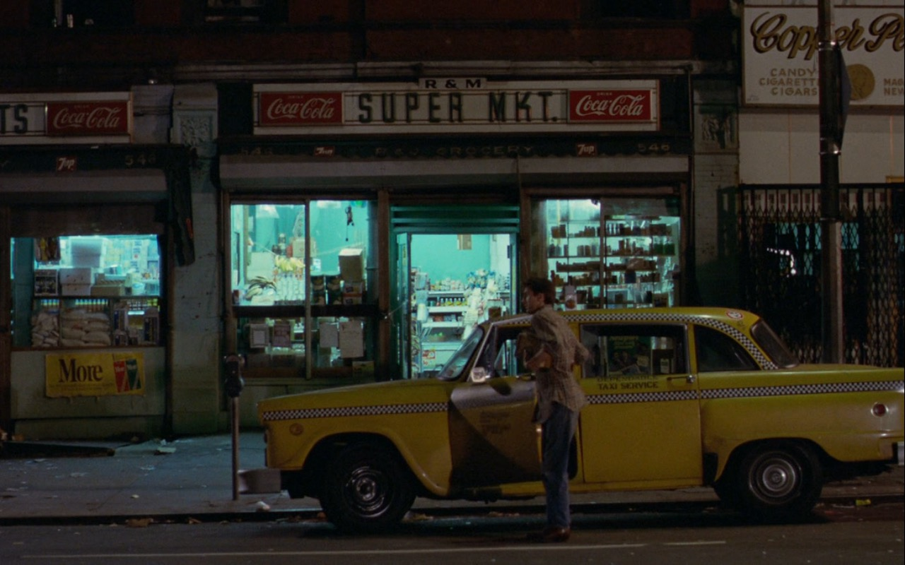 Coca-Cola Signs – Taxi Driver (1976) - Movie Product Placement