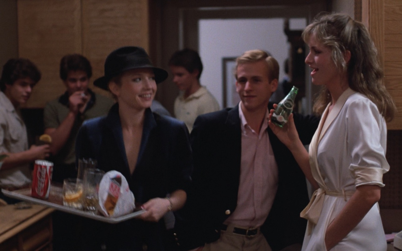 Coca-Cola and Perrier – Risky Business (1983) Movie Product Placement