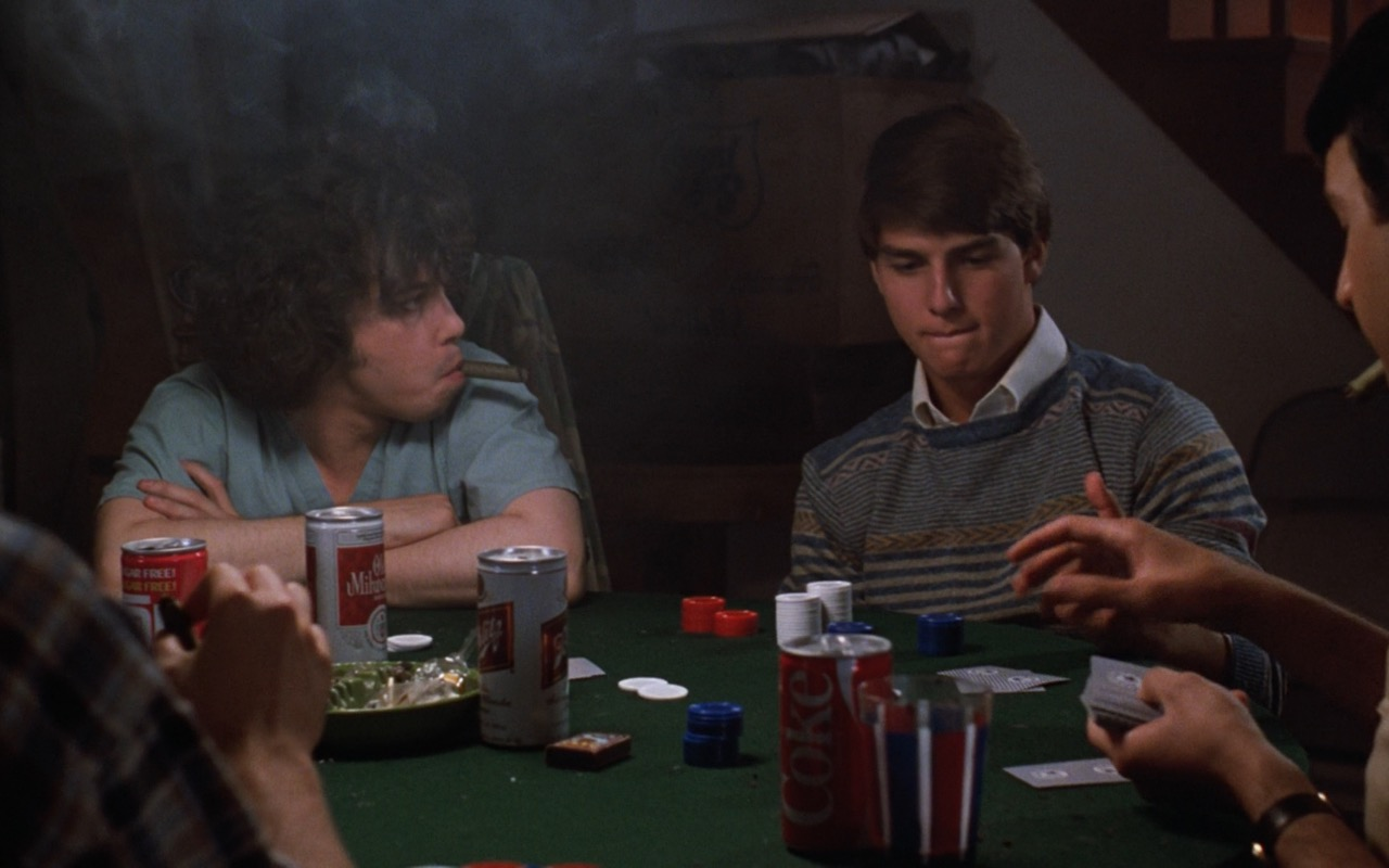 Coke, Old Milwaukee And Schlitz Beer – Risky Business (1983) Movie Product Placement