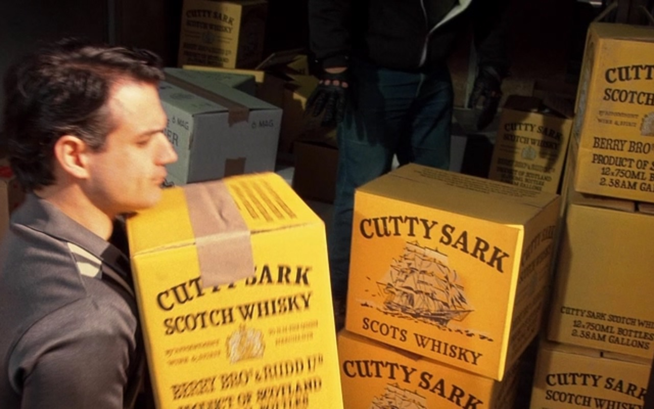 Cutty Sark Scotch Whisky Boxes – Goodfellas (1990) Movie Product Placement