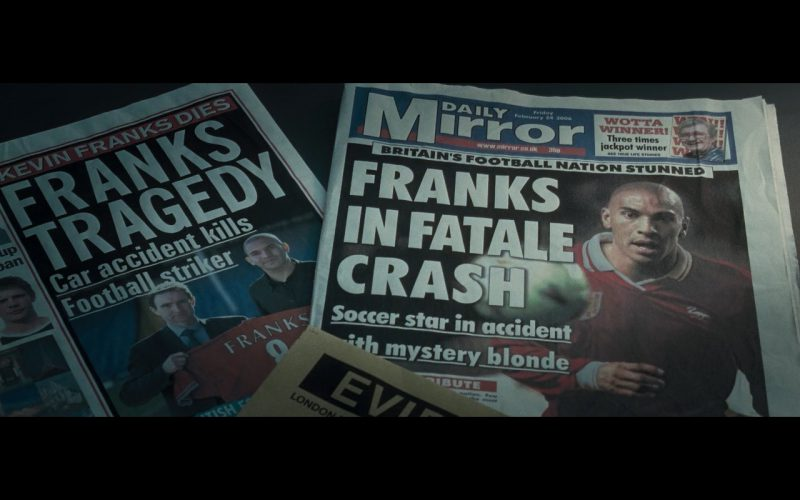 Daily Mirror Newspaper – Basic Instinct 2 (2006)