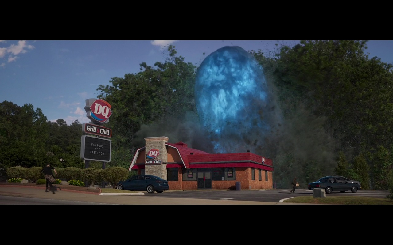 Dairy Queen Restaurant - Guardians of the Galaxy Vol. 2 (2017) Movie Product Placement
