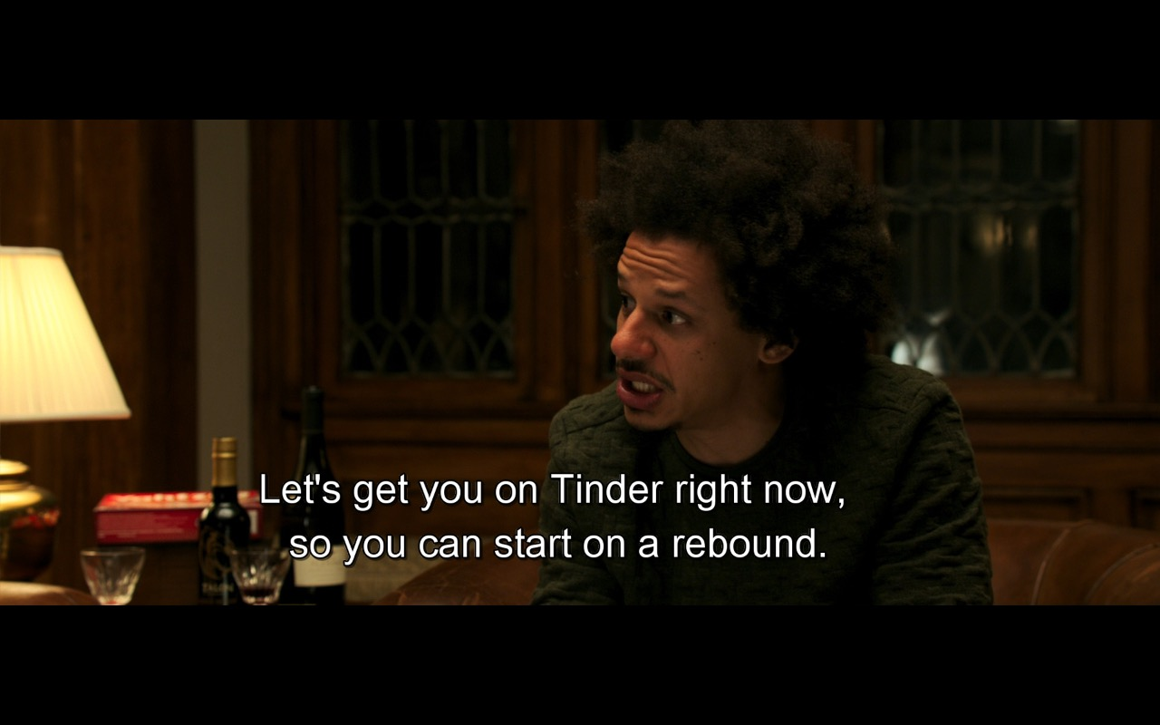 Dating With Tinder – Rough Night (2017) Movie Product Placement