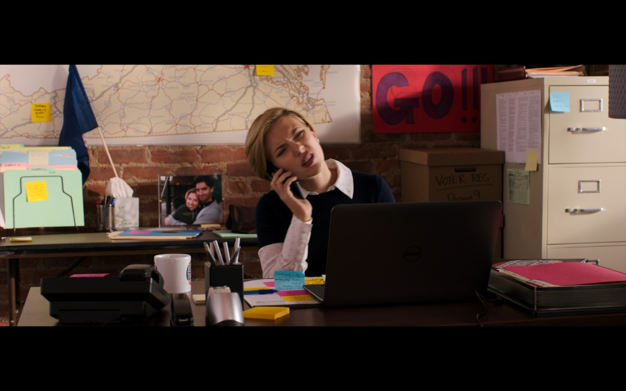 Dell Notebook - Rough Night (2017) Movie Product Placement