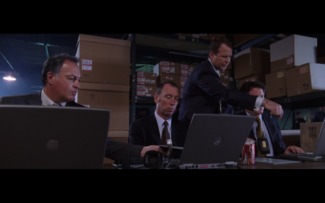 Dell Notebooks And Coca-Cola Cans – The Departed (2006) Movie Product Placement