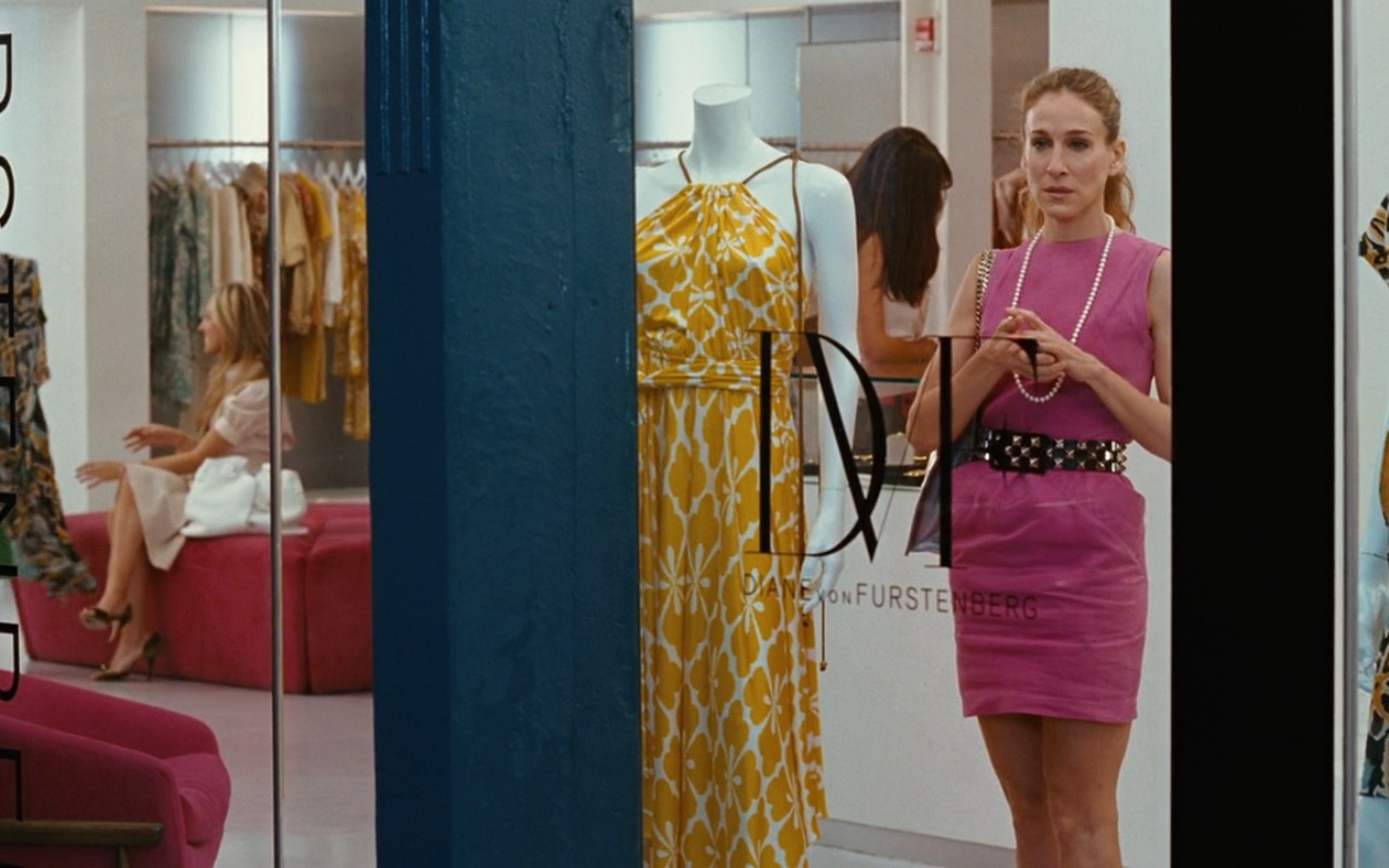Diane Von Furstenberg Boutique – Sex and the City (2008) Movie Product Placement