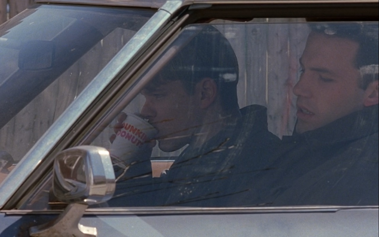 Dunkin' Donuts Coffee - Good Will Hunting (1997) Movie Product Placement
