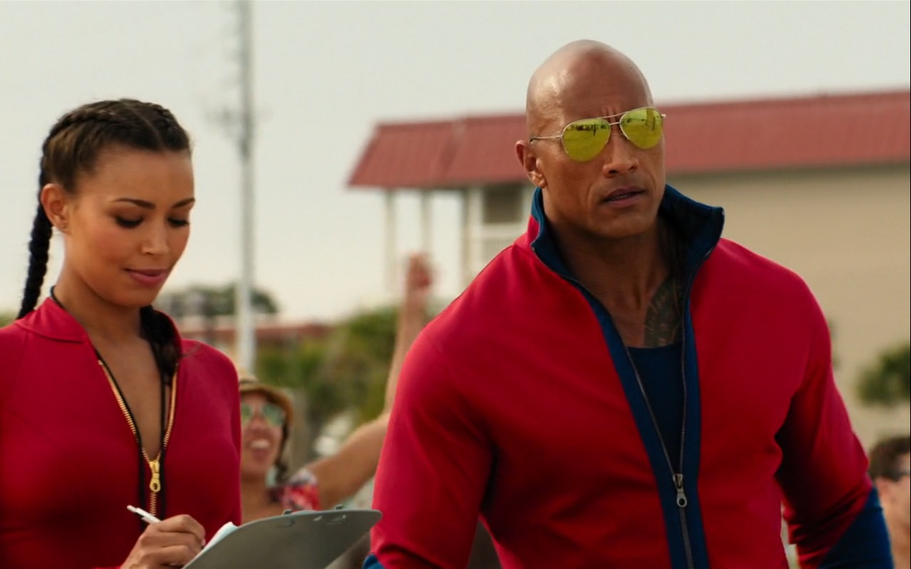 Dwayne Johnson (The Rock) and Under Armour – Baywatch (2017) Movie Product Placement