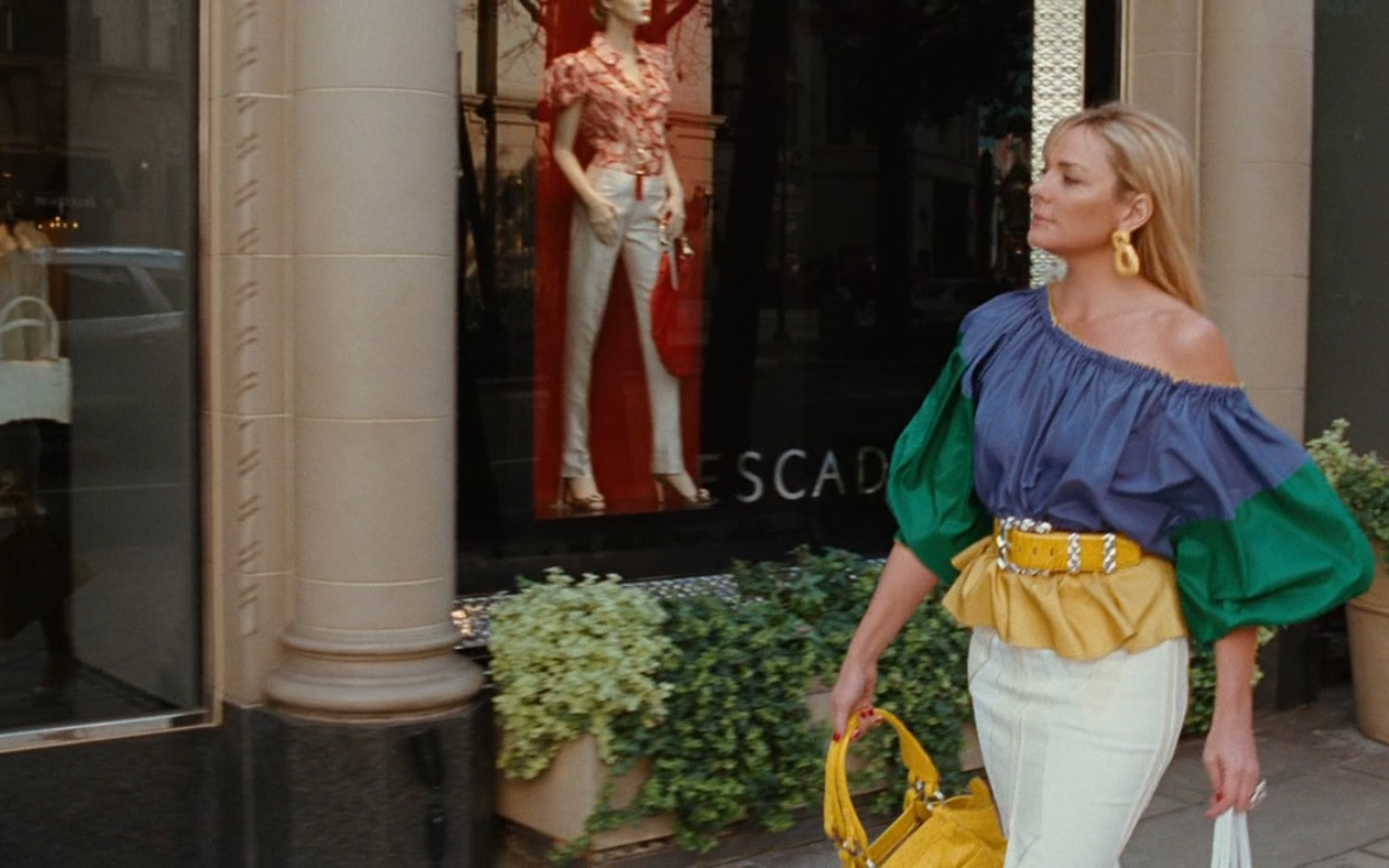 ESCADA Store – Sex and the City (2008) Movie Product Placement