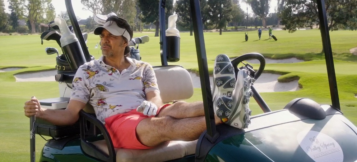 FootJoy Golf Shoes – How to Be a Latin Lover (2017) Movie Product Placement