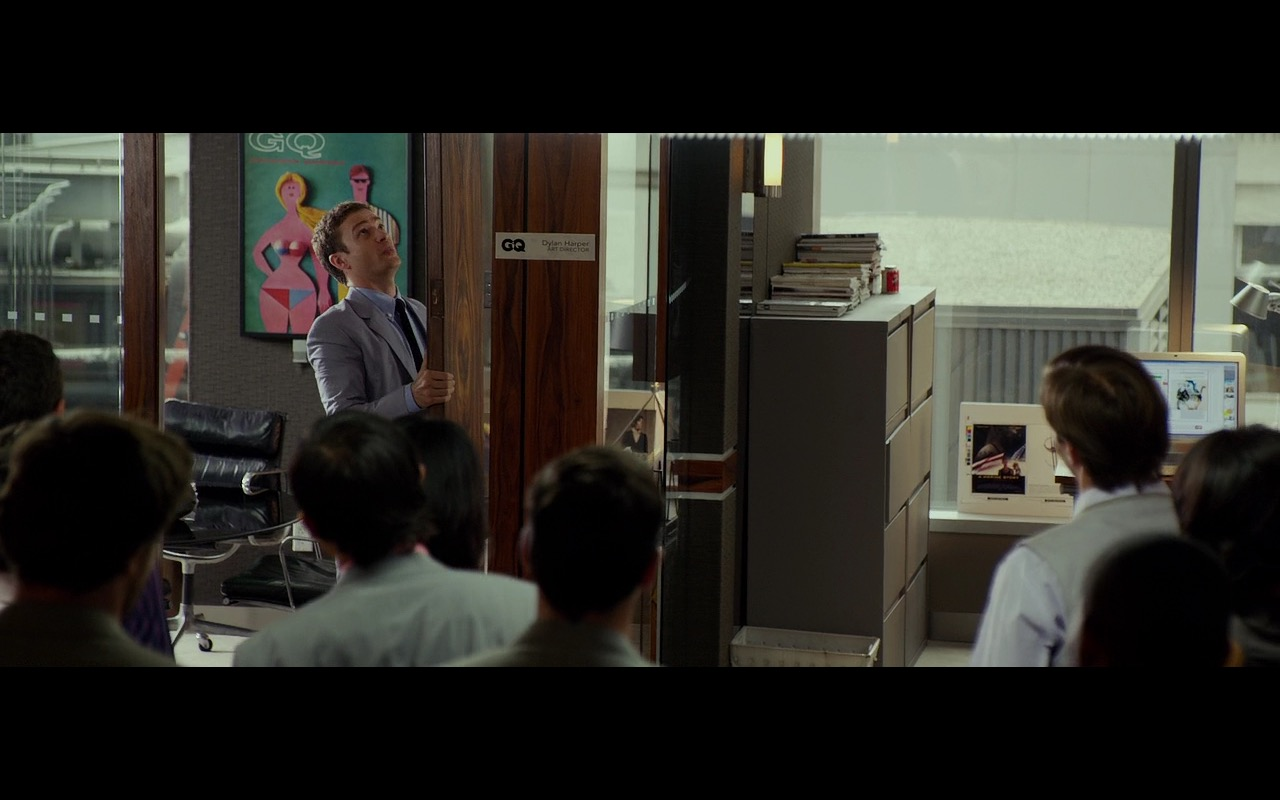 GQ Magazine - Friends with Benefits (2011) Movie Product Placement