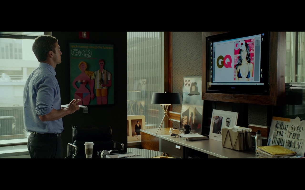 GQ, Starbucks Coffee and Sony TV - Friends with Benefits (2011) Movie Product Placement