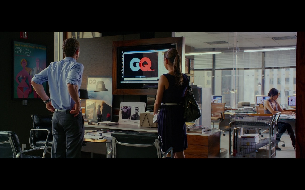 GQ and Sony TV – Friends with Benefits (2011) Movie Product Placement