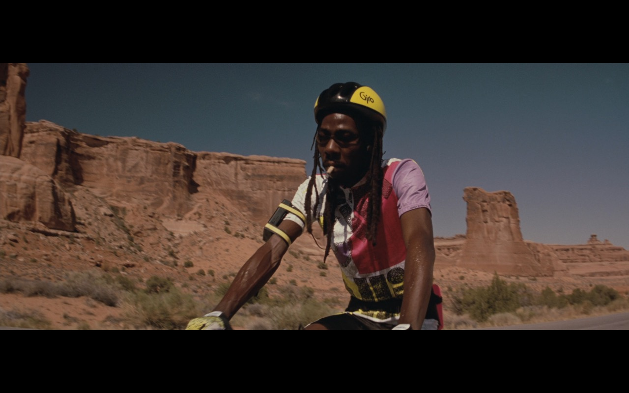 Giro Bike Helmet - Thelma & Louise (1991) Movie Product Placement