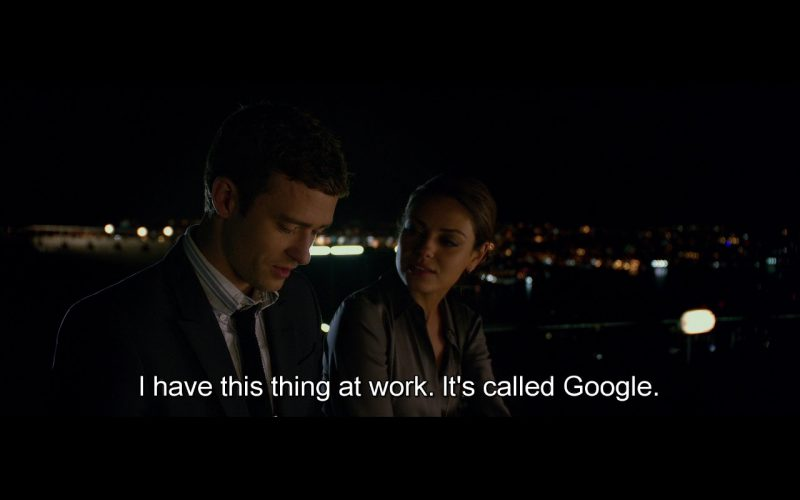 Google Search – Friends with Benefits (2011)