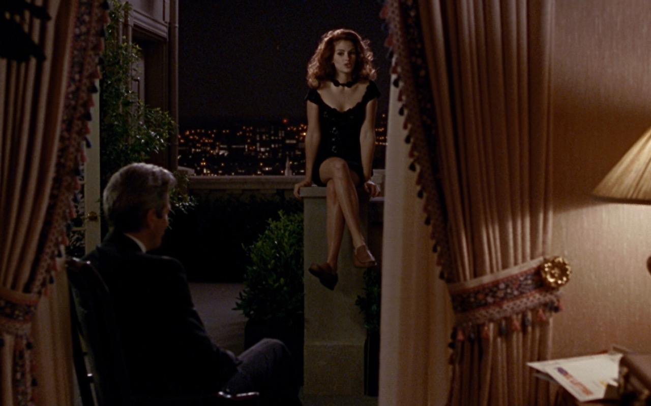 Gucci Black Cocktail Dress worn by Julia Roberts in Pretty Woman (1990) Movie Product Placement
