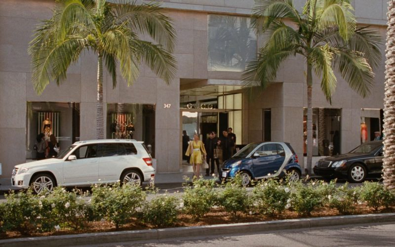 Gucci Store And Mercedes Car – Sex and the City (2008)