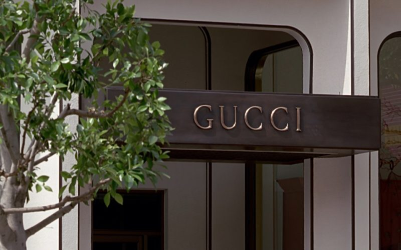 Gucci Store Sign – Pretty Woman (1990)