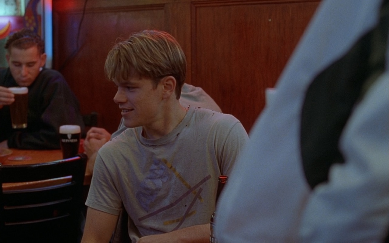 Guinness Beer – Good Will Hunting (1997) Movie Product Placement